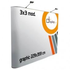 Pop Up  Plano - Magnético 3x3 módulos.
