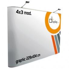 Pop Up  Plano - Magnético 4x3 módulos.