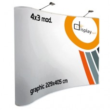 Pop Up  Curvo - Magnético 4x3 módulos.