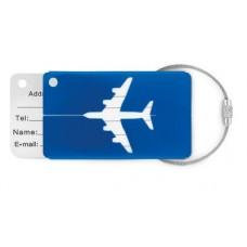 Identificador de bagagem em alumínio