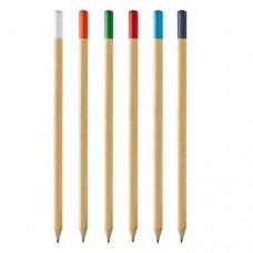 Lápis com ponta colorida