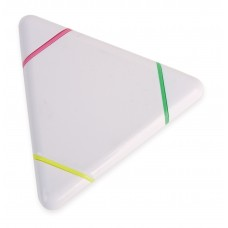 Marcador Florescente Triangular - Triplo