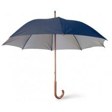 Guarda-chuva de Passeio com pega de madeira.