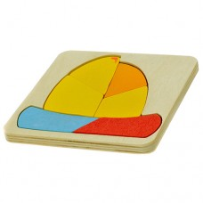 Puzzle de madeira - Barco
