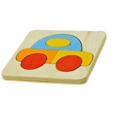 Puzzle de madeira - Carro