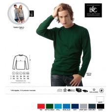 T-shirt B&C Exact 150 M. Comprida