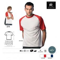 T-shirt B&C Baseball