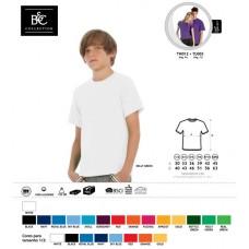 T-shirt B&C Exact 150 Kids