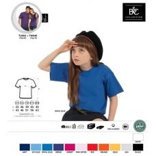 T-shirt B&C Exact 190 Kids