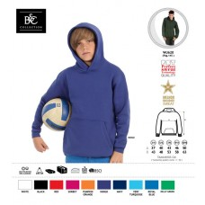 Sweatshirt B&C Hooded Kids