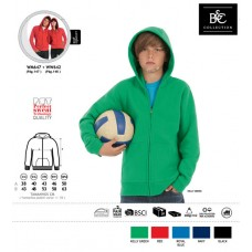 Sweatshirt B&C Full Zip Kids