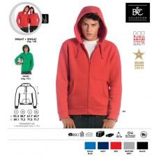 Sweatshirt B&C Full Zip Senhora